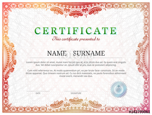 red-printable-certificate-appreciation-template-nature-theme-green