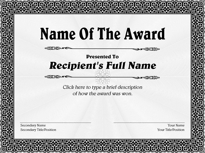 Greyscale-Decorative-Award-Certificate-purple-Certificate-template