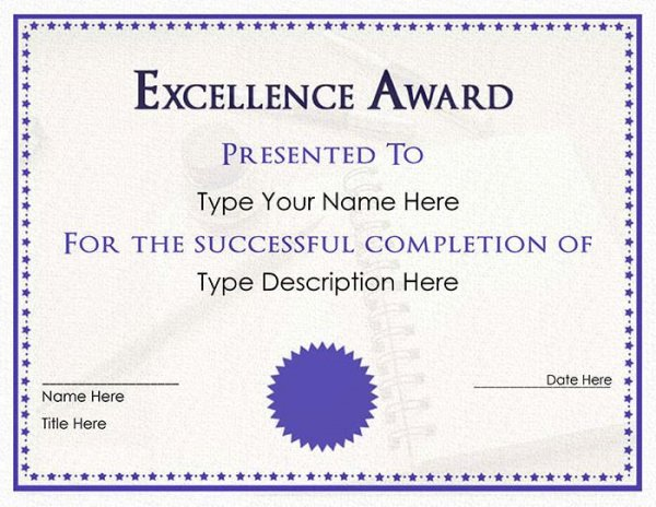 download-purple-Certificate-template-Free-word-doc