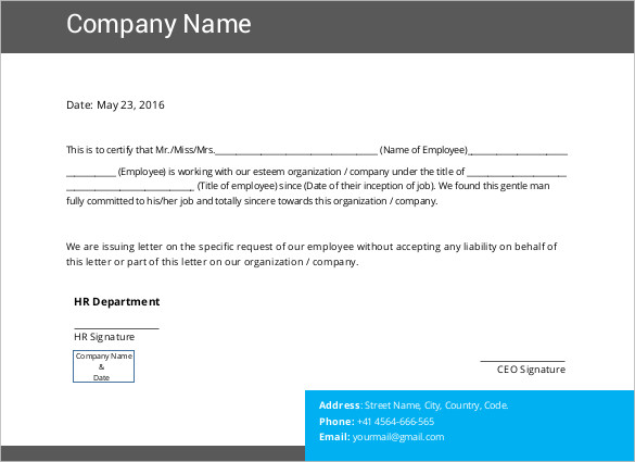 printable-sample-Manager-Salary-Certificate-Template - salary certificate template