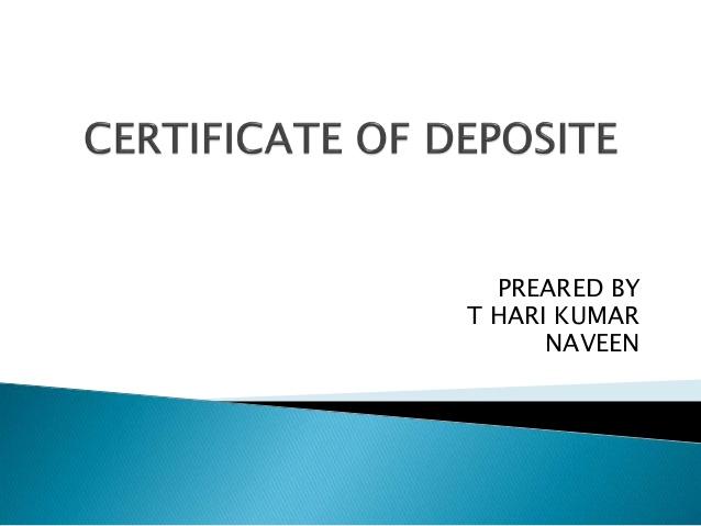 Blank Certificates