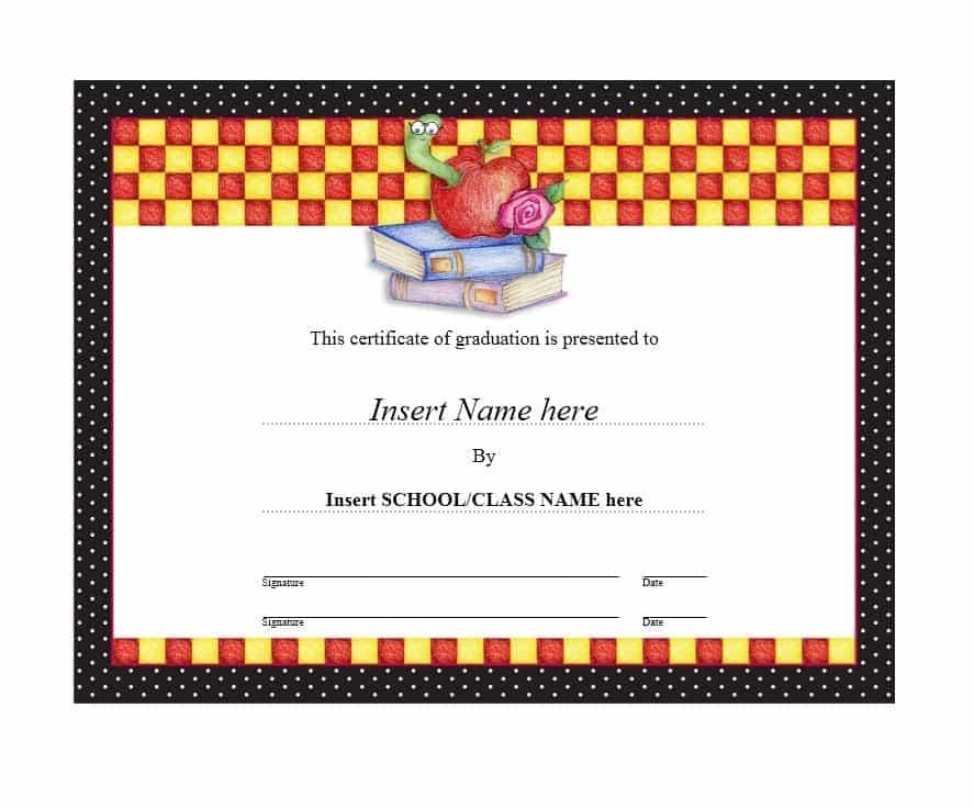Certificates of Achievement Blank Certificates