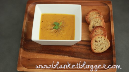 Butternut Squash & Pear Soup!