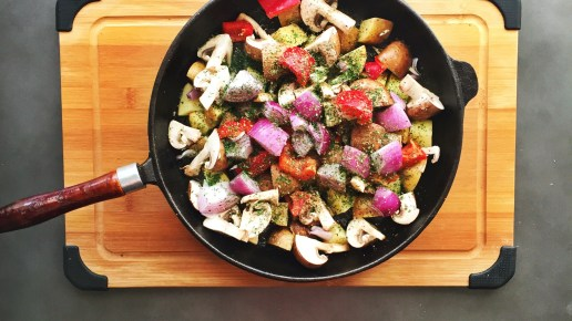 Veggie Skillet – Getting Your Family to Eat Healthier!