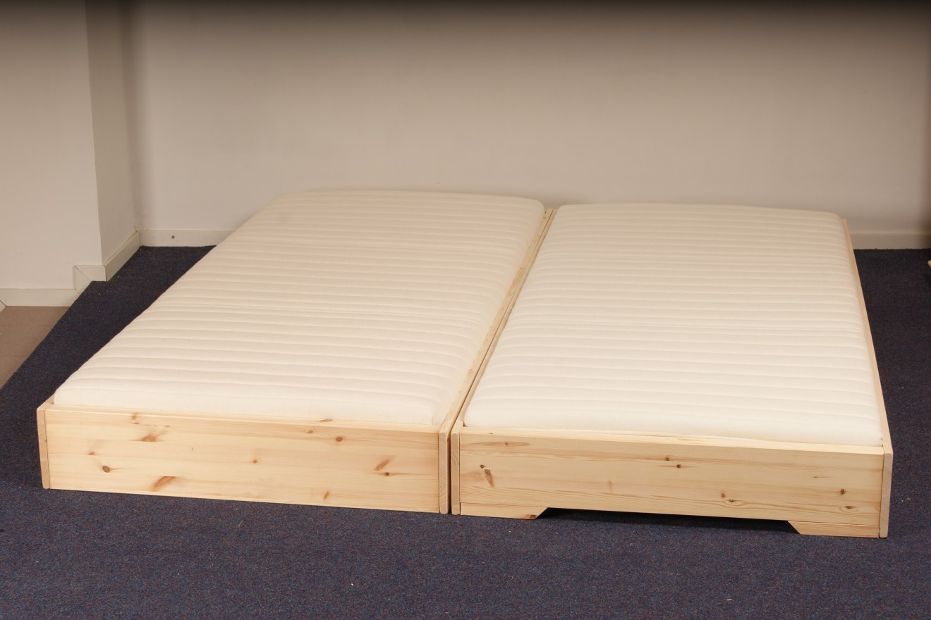 Houten Bed 1 Persoons Bedden 1 Persoons Bedden 1 Persoonsbed 2 Persoonsbed Twins