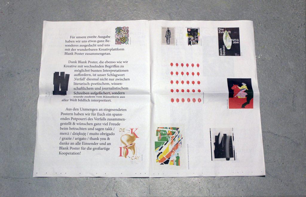 x Kon-paper - Blank Poster