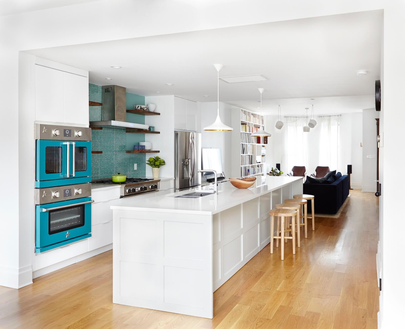 Kitchen Design Queens Ny Interior Design Ideas Brooklyn Row House Updated With Fun