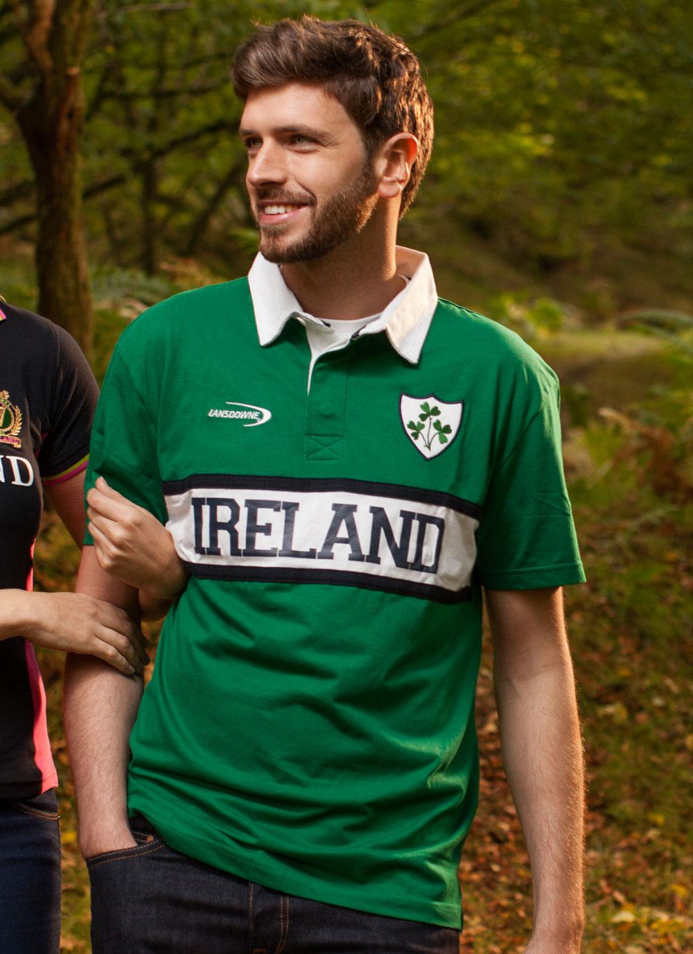Xxl Xxxl Men's Ireland Rugby Polo Shirt | Blarney