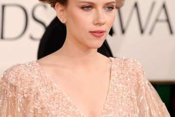 Scarlett Johansen arrives at the 68th Annual Golden Globe Awards held at The Beverly Hilton hotel on January 16 in Beverly Hills. (WireImage)