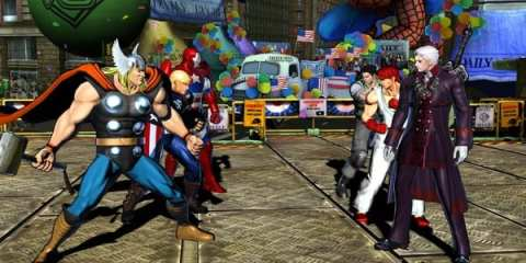 Marvel VS Capcom's first DLC, available March 1