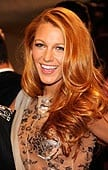 Blake Lively's red hair is sophisticated and sexy. (Media Credit/Mazur, WireImage.)