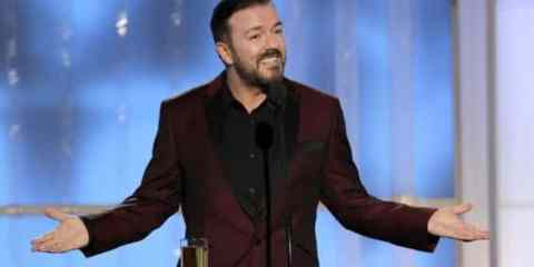 Host Ricky Gervais wonders what all the fuss is about after slamming many of his acting peers at the 2012 Golden Globes.