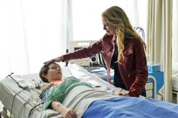 Emma (Jennifer Morrsion) hopes Henry recovers after her lack of faith leads to his hospitalization.