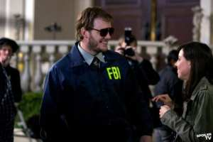 Andy&#039;s (Chris Pratt) alter-ego Burt Macklin is back and ready to neutralize a threat to Leslie&#039;s campaign.