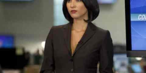 "Olivia Munn as Sloan Sabbith in HBO's ""The Newsroom"""
