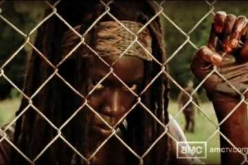 Michonne seems to be the newest member of Rick's group as she leads them to Woodbury