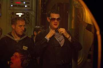 The Doctor (Matt Smith) arrives just in time to save a sinking submarine.