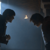 Iwan Rheon's character plays mind games with Theon (Alfie Allen)