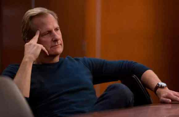 Will (Jeff Daniels) gets advice from his lawyer (Marica Gay Harden).