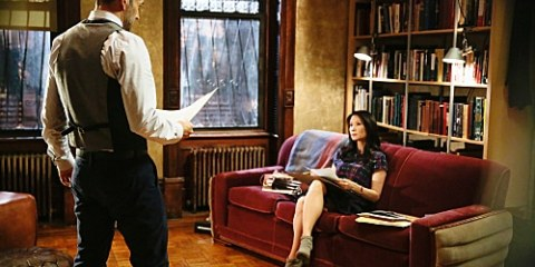 Sherlock (Jonny Lee Miller) and Joan (Lucy Liu) try to solve the case.
