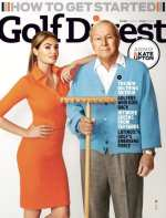 Kate Upton and Arnold Palmer: Behind the Scenes of their Golf Digest Photo Shoot