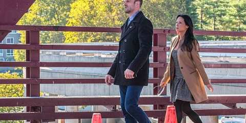 Sherlock (Jonny Lee Miller) and Joan (Lucy Liu)  look for a serial killer in this weeks Elementary.