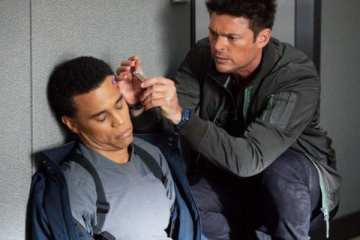 John (Karl Urban) needs to patch up Dorian (Michael Ealy).