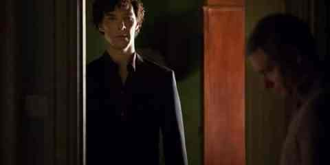 Sherlock (Benedict Cumberbatch) makes his return in this weeks episode of Sherlock.
