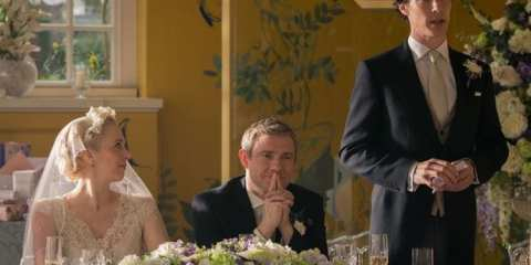 John (Martin Freeman) is getting married in this weeks episode of Sherlock.
