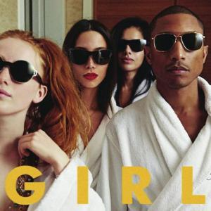Pharrell's latest album G I R L. Media credit to Columbia Records.