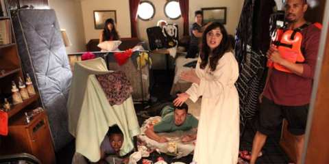 The gang goes on a cruise on the season finale of New Girl.