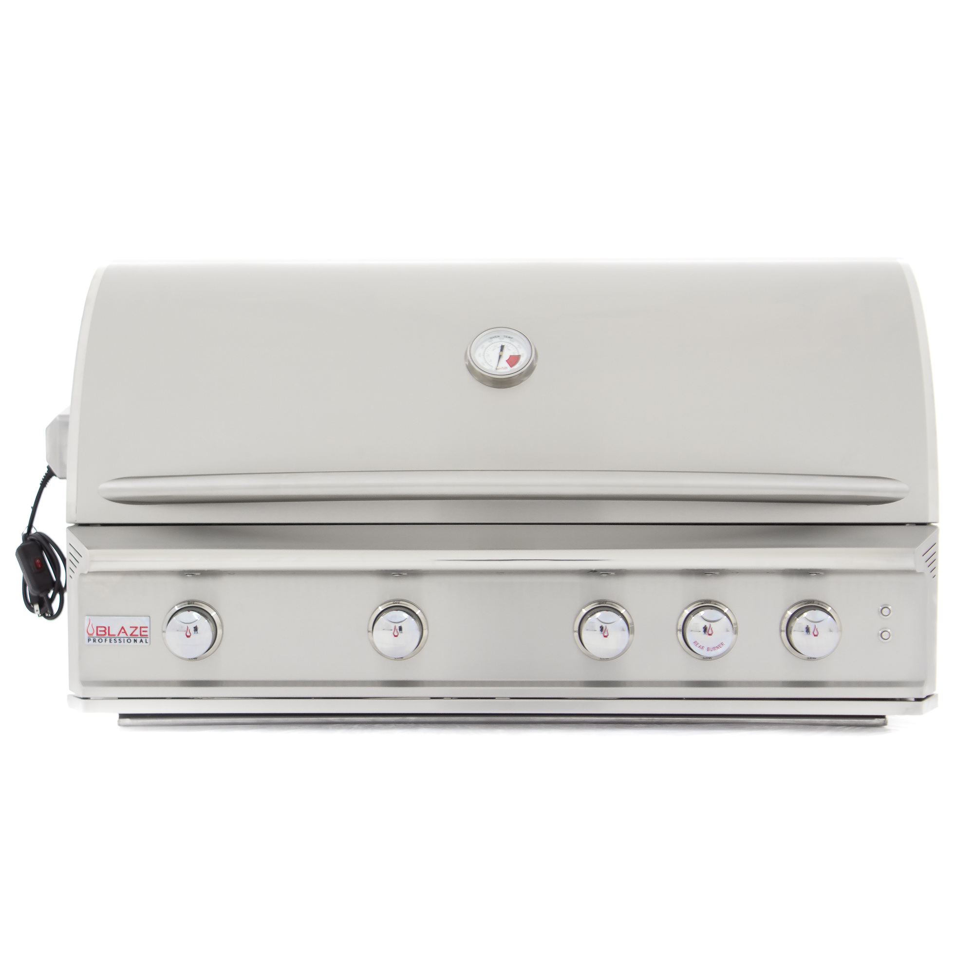Gasgrill Seattle Blaze Professional 44 Inch 4 Burner Built In Gas Grill With Rear