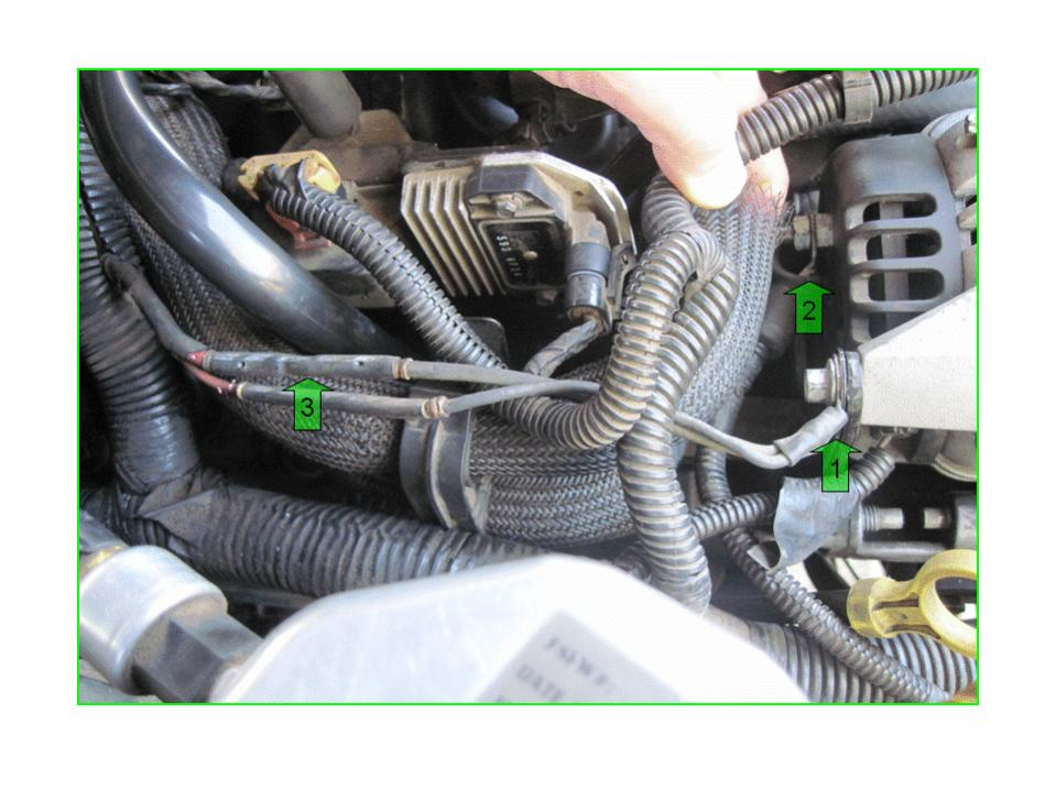 Wires to alternator 96 43L 2wd - Blazer Forum - Chevy Blazer Forums