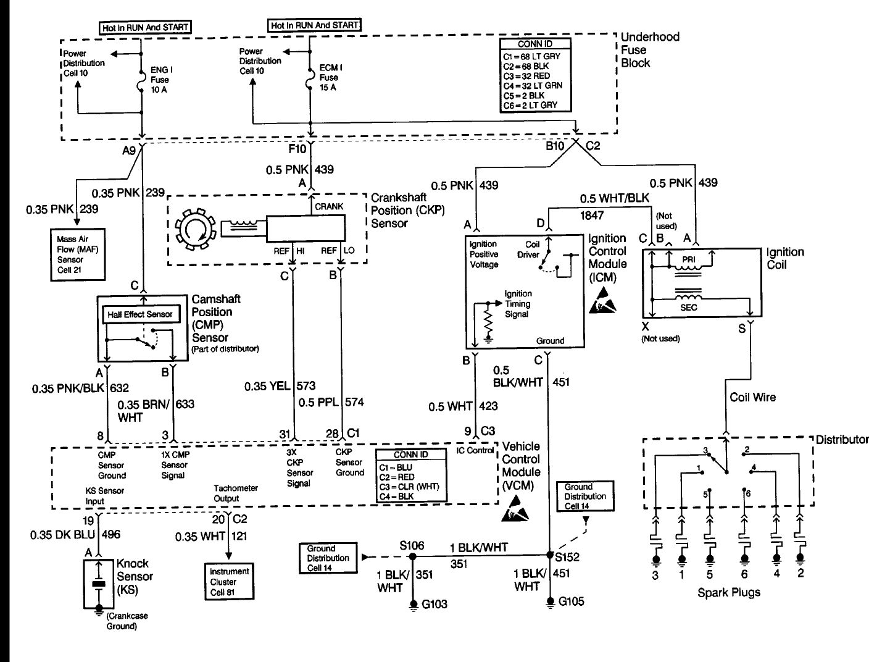 2000 blazer crank sensor wiring diagram