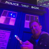 TARDIS Materialises in Prestatyn