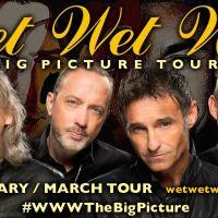 Wet Wet Wet to Kick off their 2016 Tour in Rhyl