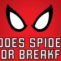 Ever Wondered What Spider-Man Eats for Breakfast