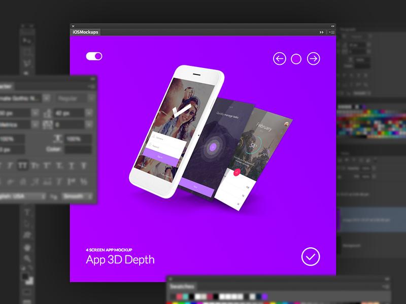 EasyMockups Photoshop Plugin - BlazRobar