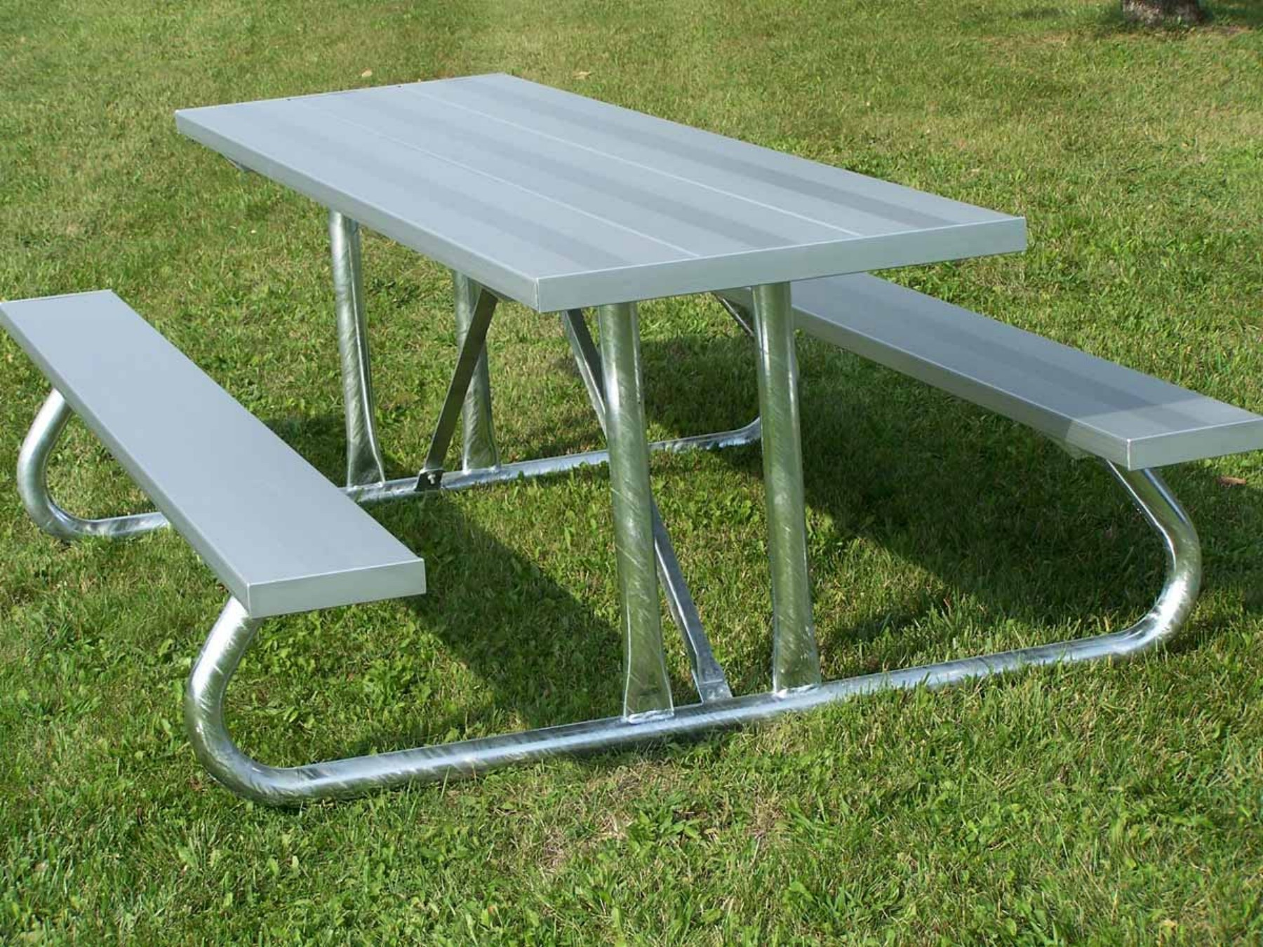 Metal Table Aluminum Picnic Tables Metal Picnic Tables National Recreation