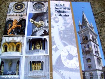 Bell Tower of Cathedral of Messina, Sicily (brochure) on Flickr