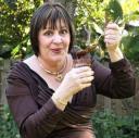 Susan enjoying Nutella for World Nutella Day