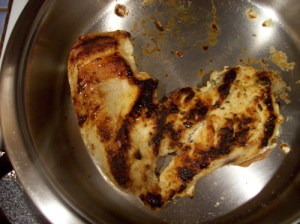 I Heart Cooked Chicken by Ann of Only in Maine