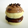 Nutella Day cupcake