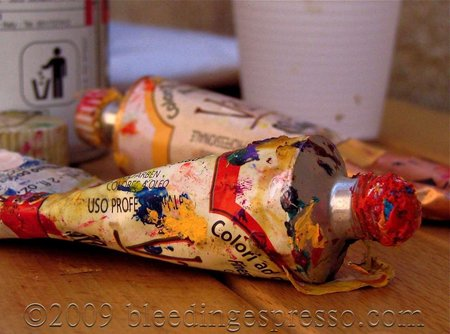 Paint tubes on Flickr