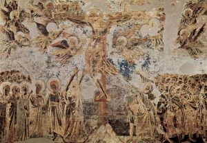 Crucifixion by Cimabue via Wikimedia Commons