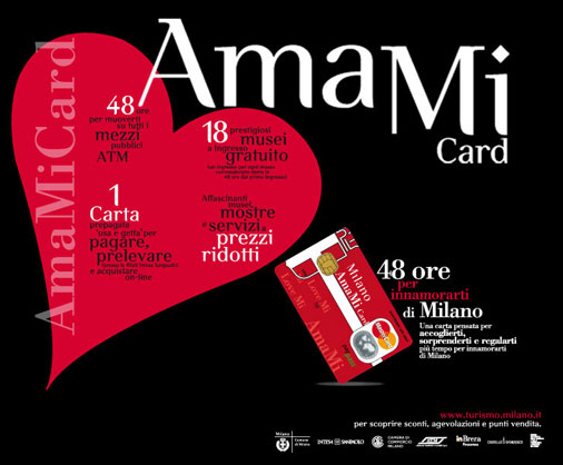 AmaMi card for Milan attractions