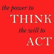 The Power to Think, the Will to Act