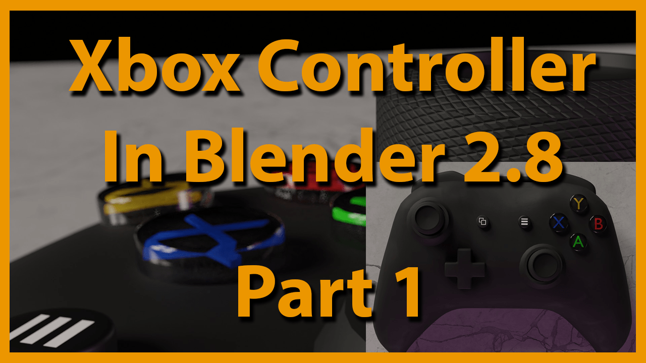 Blender Basic Creating A Basic Game Controller In Blender 2 8 Blendernation