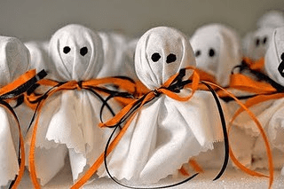 Ghost Pops Favors