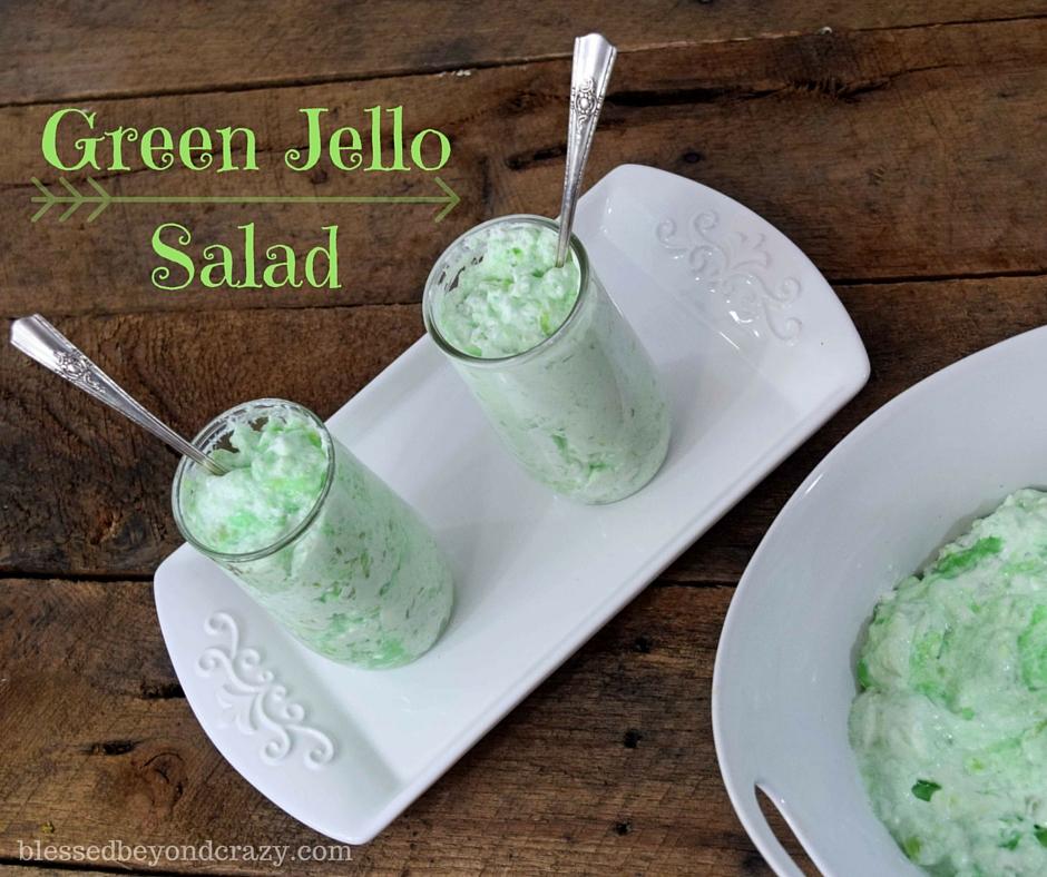 Green Jello Salad